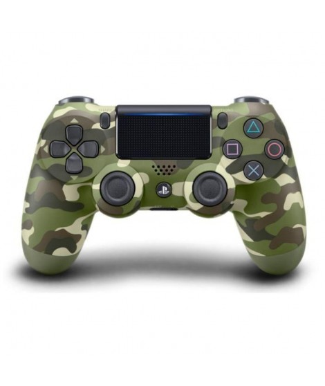 Manette PS4 DualShock 4 Green Camo V2