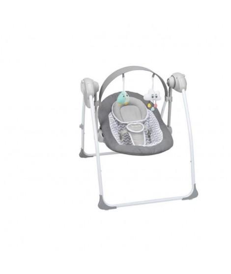 BADABULLE Balancelle Confort -   White/ Grey