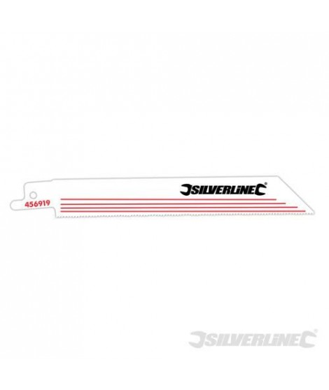 SILVERLINE Lot de 5 lames de scie alternative a bois