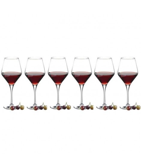 RECEPTION Lot de 6 Verres a vin Dégustation REVERIE 50 cl