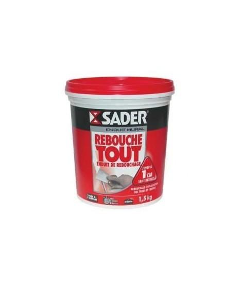 Enduit Rebouchage Pate 1,5Kg Sader