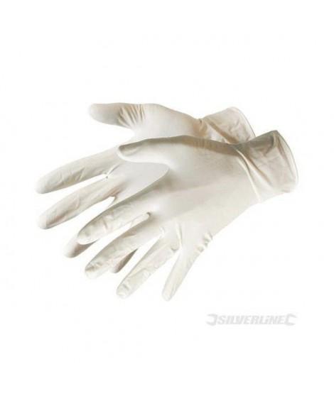 100 gants latex jetables
