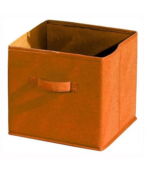 COMPO Tiroir de rangement tissu orange 27x27x28 cm