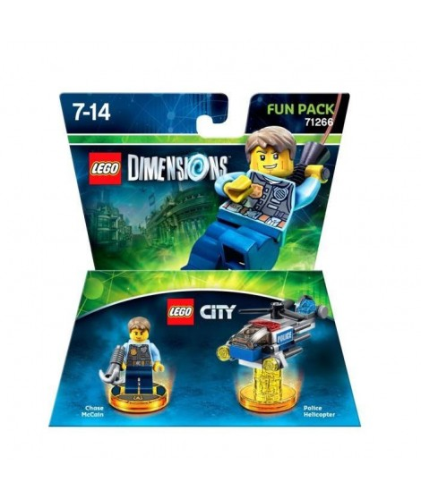 Figurine LEGO Dimensions - Lego City Pack Héros
