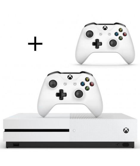 Xbox One S 500 Go + 2eme Manette