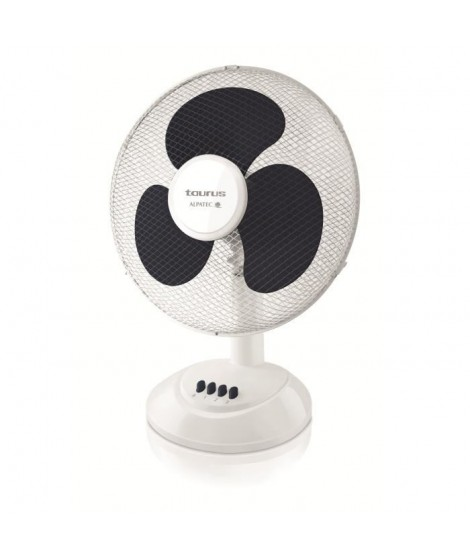 TAURUS Ventilateur de table Ponent 16 Ø40 cm blanc