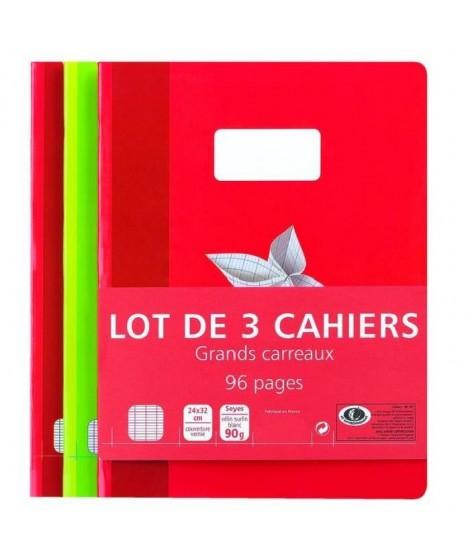 Lot de 3 Cahiers A3 - 96p