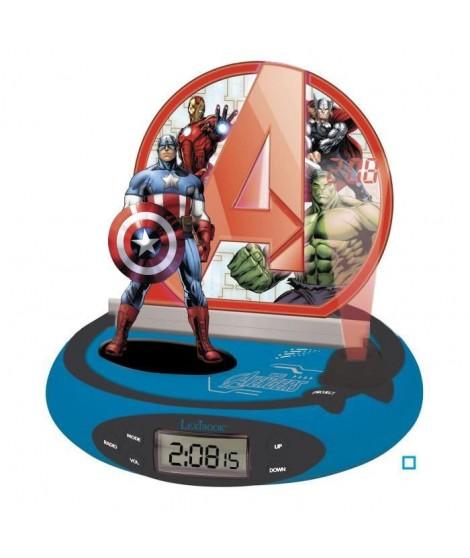 LEXIBOOK RP500AV Radio réveil - Motif Avengers - 4 Piles AA