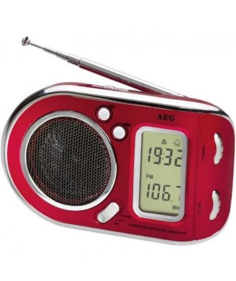 AEG WE-4125RD Radio Portable Multi-bandes - Rouge