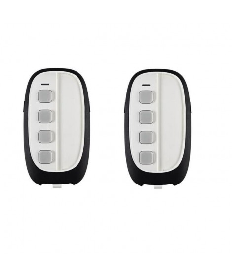 DIAGRAL Lot de 2 télécommandes 8 fonctions alarme et confort DIAG43ACK