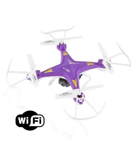 PNJ AERO 1 Drone avec caméra intégrée - WiFi et VGA - Flip 360° - Radio-commande 30m