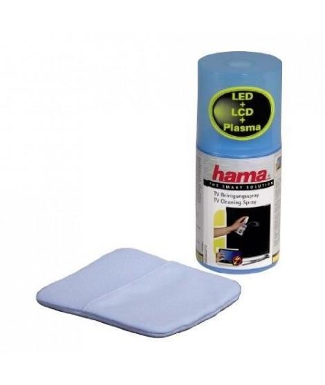 HAMA 00095862 Kit de nettoyage écran TV + Spray + Gant - 200 ml