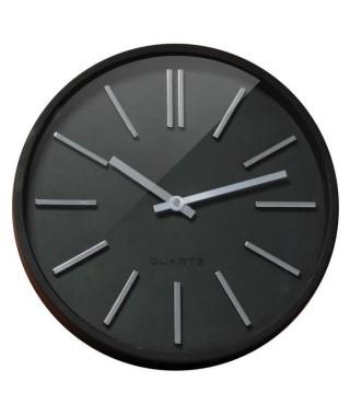 GOMA Horloge silencieuse Ø35 cm noir