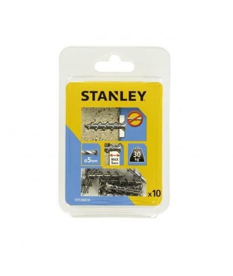 STANLEY Kit de 10 vis One ø6x32 mm a tete fraisée STF30010-XJ