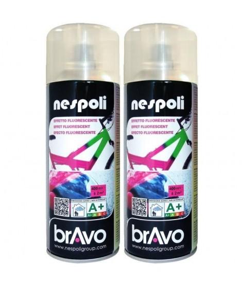 NESPOLI Lot de 2 aérosols peinture sous-couche pour fluo