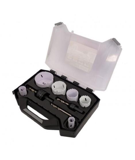 SMARTOOL Mallette 9 trépans bi-métal ø 19-68 mm pour usage courant