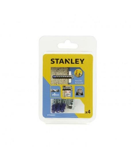 STANLEY Kit de 4 boulons ultra ø6x60 mm STF46003-XJ