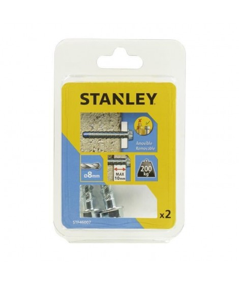 STANLEY Kit de 2 boulons ultra ø8x75 mm STF46007-XJ