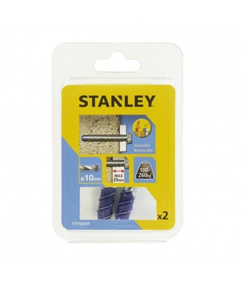 STANLEY Kit de 2 boulons ultra ø10x75 mm STF46009-XJ