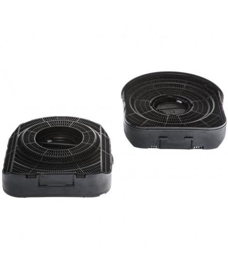 ELECTROLUX 942121987 - Filtre a charbon type 200 - Absorbe les odeurs - Lot de 2 pieces
