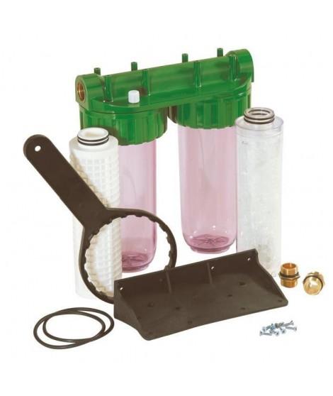 DIPRA Station de filtration Vital anticalc Duplex anti impuretés anti calcaire