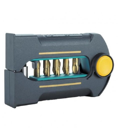 WOLFCRAFT 1 coffret Embout Bitbutler TIN. 9 pieces
