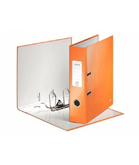 LEITZ Classeur a Levier 180° 80 mm WOW Orange