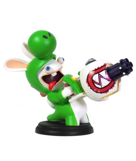 Figurine Mario + The Lapins Crétins Kingdom Battle - Yoshi 15cm