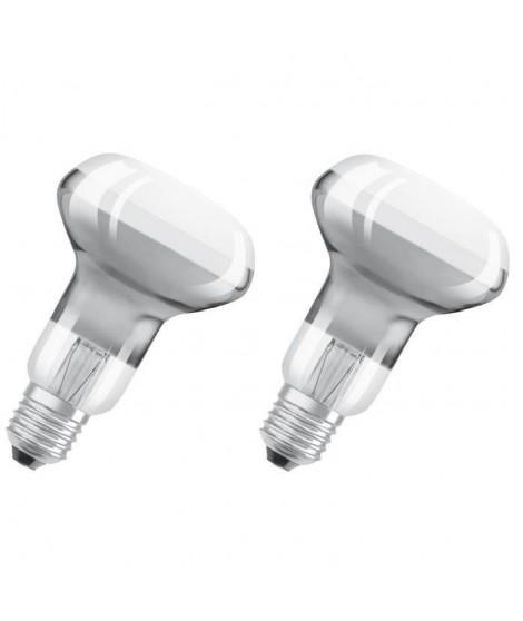 OSRAM Lot de 2 Ampoules Spot LED R63 E27 5 W équivalent a 46 W blanc chaud
