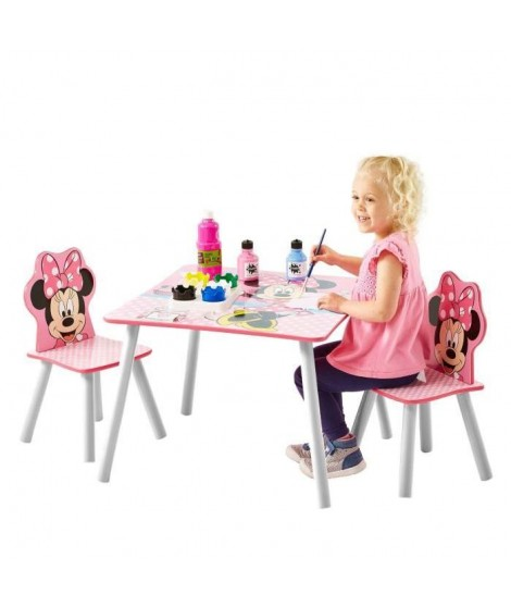 MINNIE Ensemble Table Et 2 Chaises