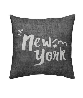 TODAY Coussin déhoussable Chambray Coton NEW YORK - 40x40cm