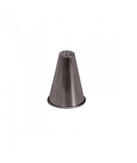 DE BUYER Douille a nid - Inox - Diametre : 14 mm - 7 trous de 1,3 mm