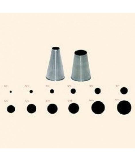 DE BUYER Douille unie - Inox - Diametre : 11 mm