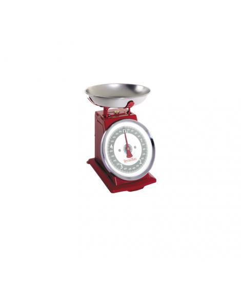 Balance mécanique Tradition rouge, 5 kg - Terraillon