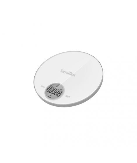 Balance électronique blanche Halo Bumper, 6 kg - Terraillon