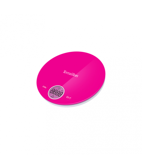 Balance électronique rose Halo Colors, 4 kg - Terraillon