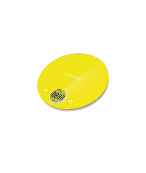 Balance électronique jaune Halo Colors, 4 kg - Terraillon