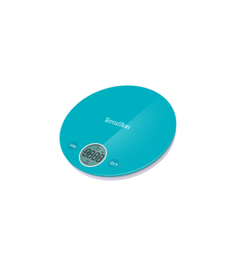 Balance électronique bleue Halo Colors, 4 kg - Terraillon