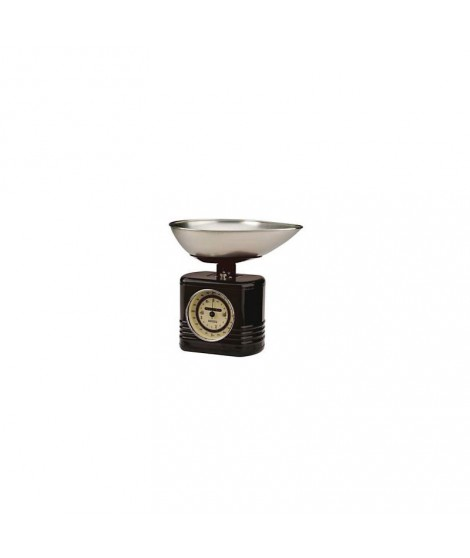 Balance mécanique de cuisine Black Vintage - Typhoon