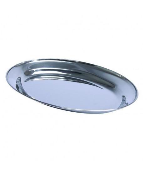 NOVASTYL Plat oval 30 cm Inoxstyle - Inox