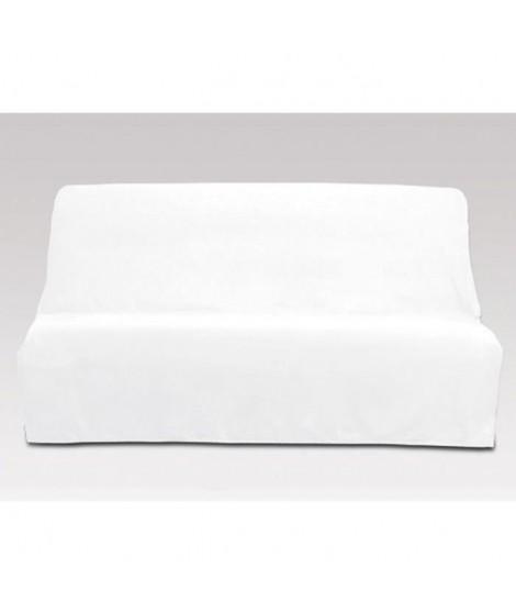 SOLEIL D'OCRE Housse clic-clac en coton Panama - Blanc