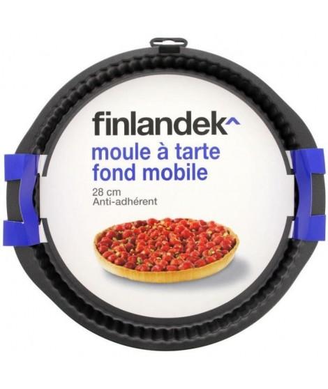 FINLANDEK Moule a tarte metal 28 cm fond mobile
