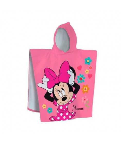 MINNIE Cape de bain Coton 60x120cm