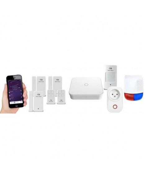 NEW DEAL Pack Alarme maison Pro-L15 Domotique sans fil connectée