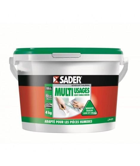 SADER Seau Pâte Enduit Multi-usages - 4kg
