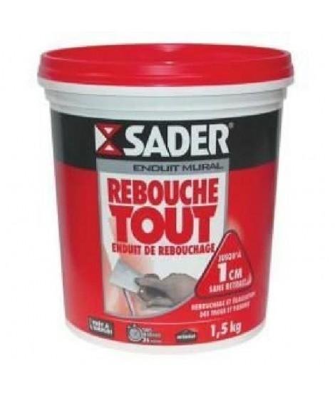 SADER Seau Pâte Enduit Rebouche tout - 4kg