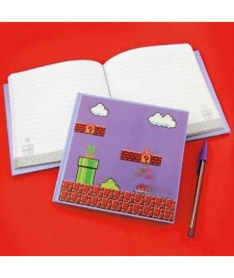 Cahier 3D Nintendo : Super Mario Bros