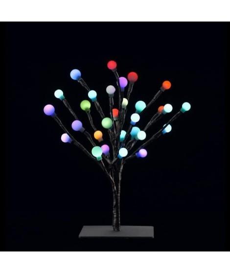 Bonzai caméléon 30 LED hauteur 30 cm multicolore