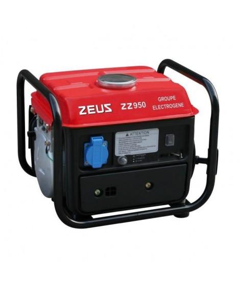 ZEUS Groupe électrogene 720W a moteur essence 2 temps ZEUZ 950