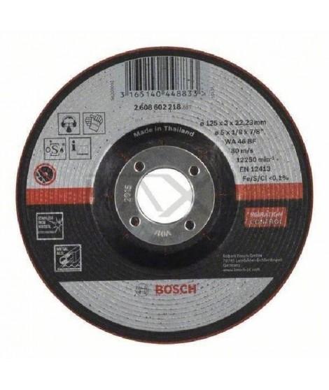 BOSCH Meule semi-flexible - 125 mm - 22,23 mm - 3,0 mm